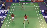 巴宁/塔博林VS德尔菲娜/拉菲尔 2014法国公开赛 女双1/16决赛视频