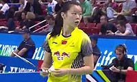 李雪芮VS因达农 2014法国公开赛 女单半决赛视频