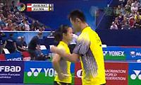 艾哈迈德/纳西尔VS徐晨/马晋 2014法国公开赛 混双半决赛视频