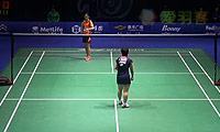 山口茜VS王适娴 2014中国公开赛 女单1/8决赛明仕亚洲官网