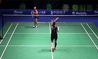 渡边茜VS裴延姝 2014中国公开赛 女单半决赛视频