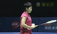 内维尔VS山口茜 2014中国公开赛 女单决赛明仕亚洲官网
