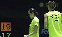 张楠/赵芸蕾VS柳延星/严惠媛 2014中国公开赛 混双决赛视频