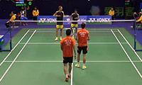 傅海峰/张楠VS博世/田子杰 2014香港公开赛 男双1/16决赛视频