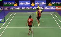 徐晨/马晋VS艾哈迈德/苏珊托 2014香港公开赛 混双1/4决赛视频