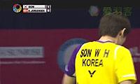 孙完虎VS约根森 2014香港公开赛 男单半决赛视频