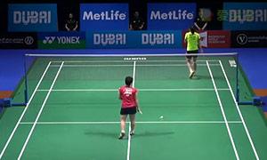 刘成/包宜鑫VS艾哈迈德/纳西尔 2014世界羽联总决赛 混双资格赛视频