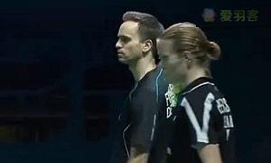 尼尔森/佩蒂森VS艾哈迈德/纳西尔 2014世界羽联总决赛 混双资格赛视频