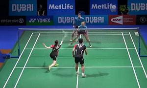 福克斯/迈克斯VS高成炫/金荷娜 2014世界羽联总决赛 混双资格赛视频