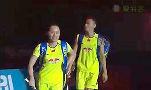 张楠/赵芸蕾VS爱德考克/加布里 2014世界羽联总决赛 混双半决赛视频