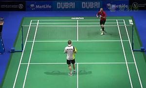 维汀哈斯VS约根森 2014世界羽联总决赛 男单半决赛视频