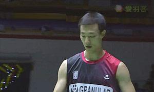 李炫一VS全奕陈 2015马来黄金赛 男单决赛视频