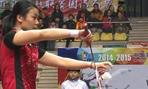汤金华/于小含VS成淑/熊梦静 2015中国羽超联赛 女双资格赛视频