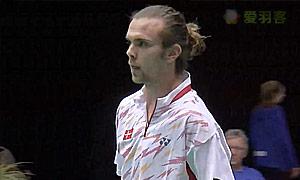 约根森(丹麦)VS潘迪(英格兰) 2015欧洲团体锦标赛 男单决赛视频