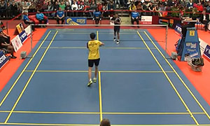 伍家朗VS埃斯坎达 2015奥地利公开赛 男单决赛视频