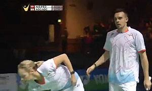 尼尔森/佩蒂森VS爱德考克/加布里 2015德国公开赛 混双半决赛视频