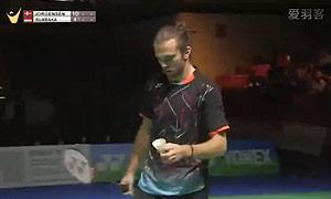 约根森VS狄奥尼修斯 2015德国公开赛 男单决赛视频