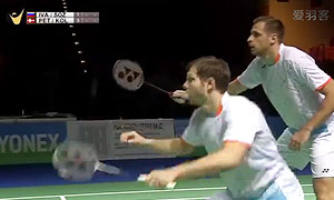 彼德森/科丁VS伊万诺夫/索松诺夫 2015德国公开赛 男双决赛视频