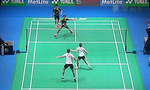 艾哈迈德/纳西尔VS山姆/克洛伊 2015全英公开赛 混双1/16决赛视频