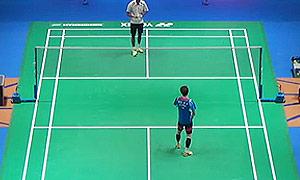 欧斯夫VS孙完虎 2015全英公开赛 男单1/16决赛明仕亚洲官网