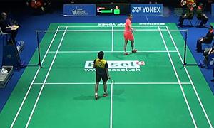 孙瑜VS蓬迪 2015瑞士公开赛 女单1/4决赛视频