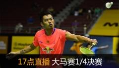 大马赛:林丹谌龙进8强 王晓理于洋退赛
