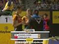 张艺娜/郑景银VS田卿/夏欢 2015马来公开赛 女双半决赛视频