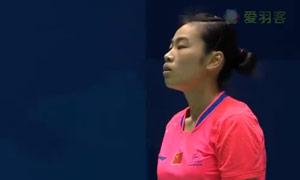 惠夕蕊VS星千智 2015中国大师赛 女单半决赛视频