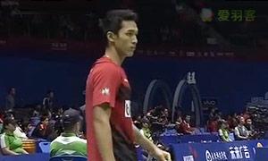 欧斯夫VS乔纳坦 2015苏迪曼杯 男单资格赛视频