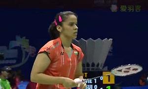 内维尔VS郑清亿 2015苏迪曼杯 女单资格赛视频