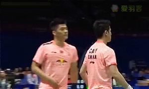 蔡赟/傅海峰VS博丁/巴甲瓦 2015苏迪曼杯 男双资格赛视频
