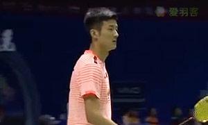 谌龙VS波萨那 2015苏迪曼杯 男单资格赛视频