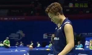桃田贤斗VS周天成 2015苏迪曼杯 男单资格赛视频