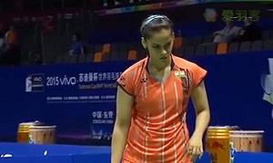 内维尔VS裴延姝 2015苏迪曼杯 女单资格赛视频