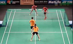 当甲农/库查拉VS艾米利亚/宋佩珠 2015澳洲公开赛 女双资格赛视频