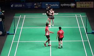 艾哈迈德/纳西尔VS拉巴尔/拉菲尔 2015澳洲公开赛 混双资格赛视频