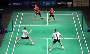 尼尔森/佩蒂森VS维迪安托/蒂莉 2015澳洲公开赛 混双资格赛视频