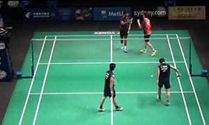 数野健太/山田和司VS周马修/萨万 2015澳洲公开赛 男双资格赛视频