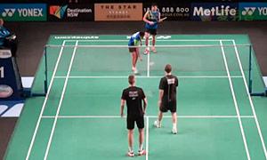 瓦赫尤那亚卡/尤苏夫VS彼德森/科丁 2015澳洲公开赛 男双资格赛视频