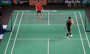 李炫一VS张维峰 2015澳洲公开赛 男单资格赛视频