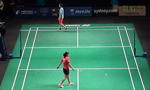 内维尔VS谢抒芽 2015澳洲公开赛 女单资格赛视频