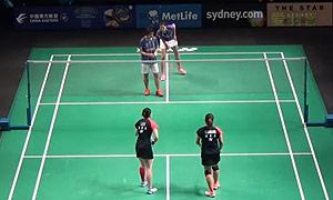 普缇塔/沙西丽VS李意恒/奥巴娜娜 2015澳洲公开赛 女双资格赛视频
