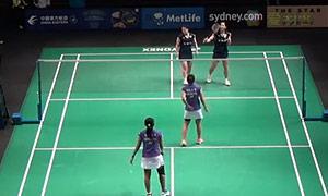 尼蒂娅/波莉VS福万尚子/与犹胡桃 2015澳洲公开赛 女双资格赛视频