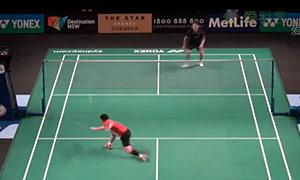上田拓马VS许仁豪 2015澳洲公开赛 男单资格赛视频