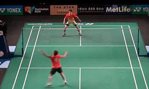 桃田贤斗VS魏楠 2015澳洲公开赛 男单资格赛视频