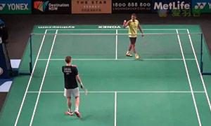 阿萨尔森VS林丹 2015澳洲公开赛 男单1/16决赛视频
