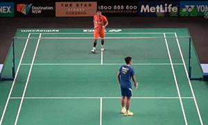 王睁茗VS卡什亚普 2015澳洲公开赛 男单1/16决赛视频
