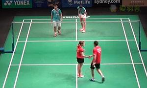 爱德考克/加布里VS尼迪蓬/普缇塔 2015澳洲公开赛 混双1/8决赛视频