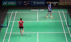王仪涵VS高桥沙也加 2015澳洲公开赛 女单1/8决赛视频