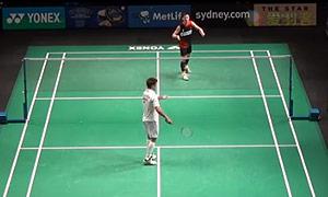约根森VS李炫一 2015澳洲公开赛 男单1/8决赛视频